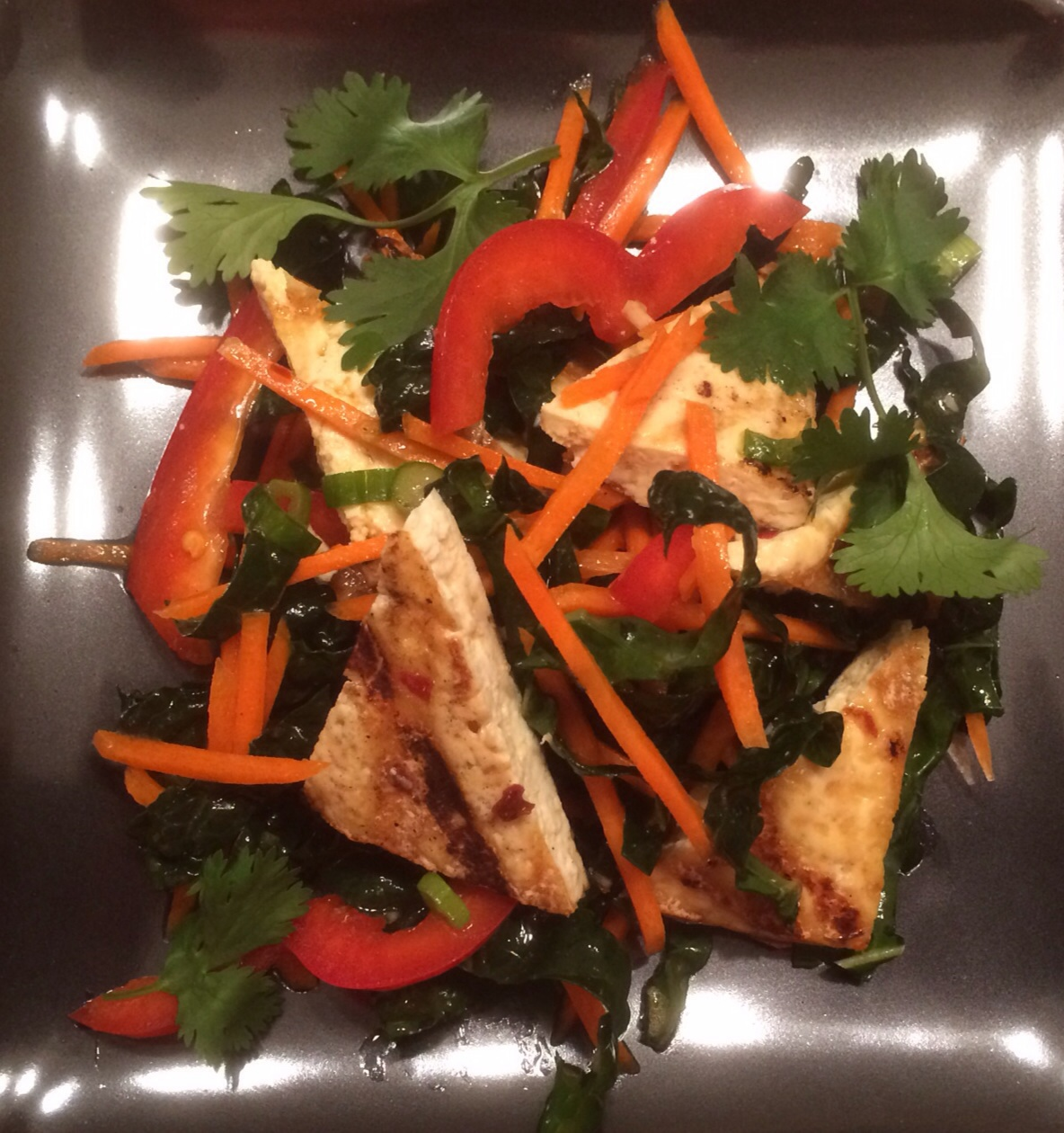 Spicy Thai Grilled Tofu