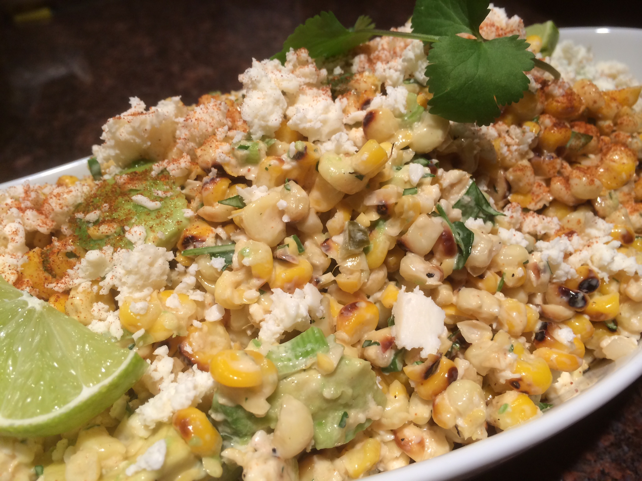 Esquites, Mexican Corn Salad