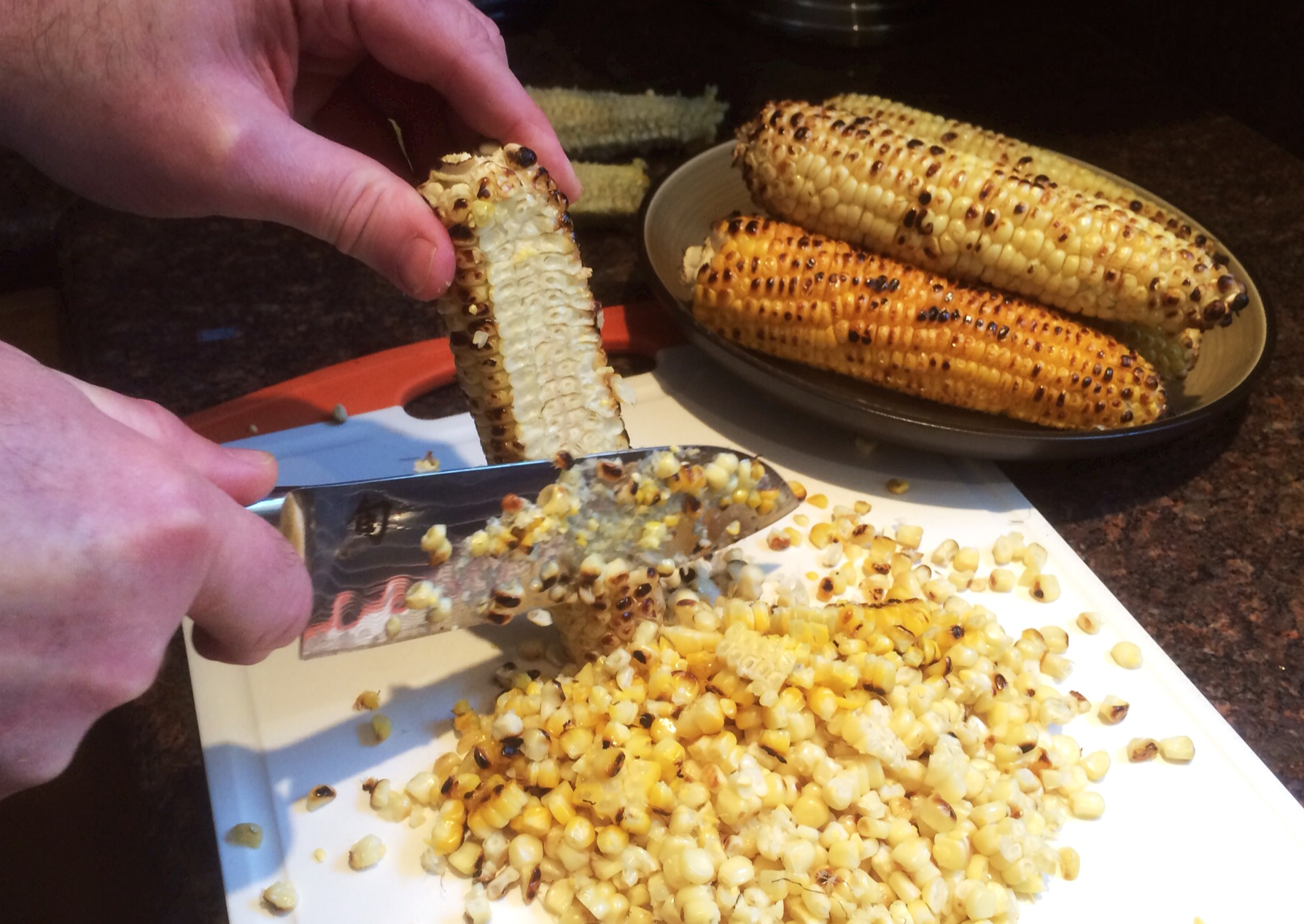 esquites mexican grilled corn shun